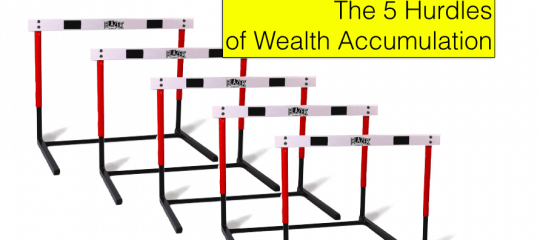 The Five Hurdles of Wealth Accumulation