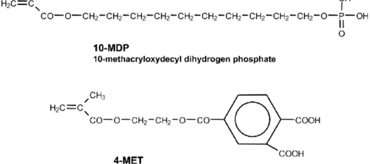 Chimcal structure diagram of MDP